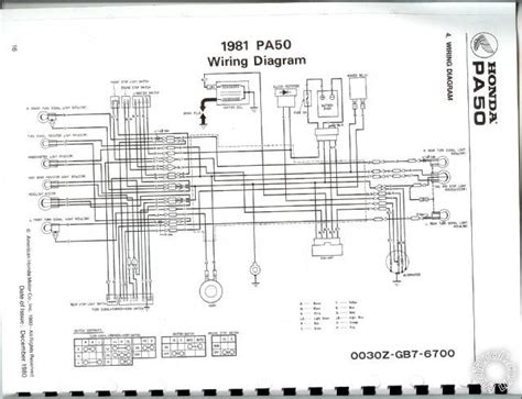 honda 50 wiring diagram wiring diagram honda pa 50 get free image about wiring diagram