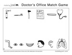 Made By Joel 187 Doctor S Office Match Game The Match Free Printable Coloring Pages