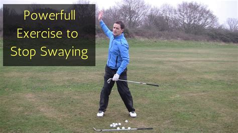 Stop Swaying Or Sliding In The Golf Swing Youtube