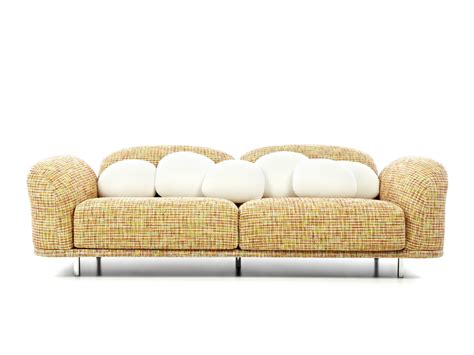 sofa dacron design 3 seater dacron 174 sofa cloud sofa by moooi design