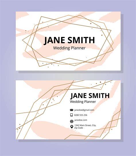 feminine business card template feminine business card template free vector