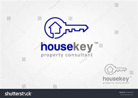 house and key real estate image gallery house key logo designs