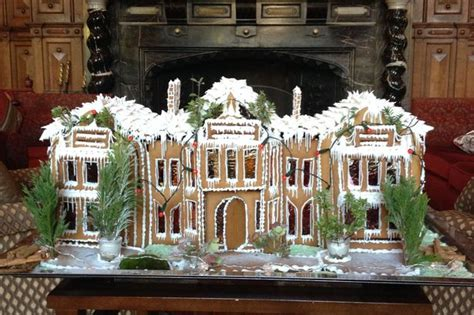 gingerbread house to buy uk welcombe hotel creates gingerbread house for christmas birmingham mail