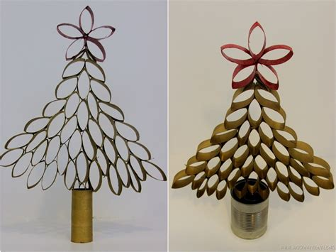diy toilet paper roll christmas tree unknown mami by