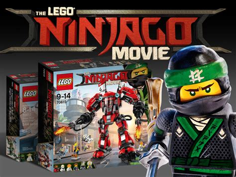 ninjago film first lego ninjago movie set revealed brickset lego