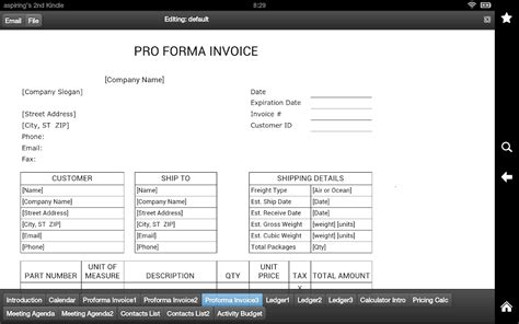 what is the difference between a commercial and pro forma invoice