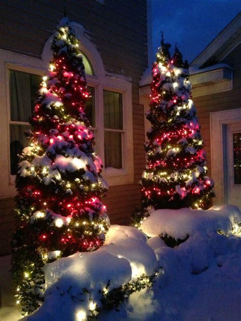 Outdoor Christmas Lights Holiday Decor Pinterest