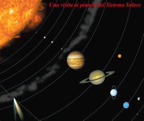 pianeti interni una visita ai pianeti interni ed esterni