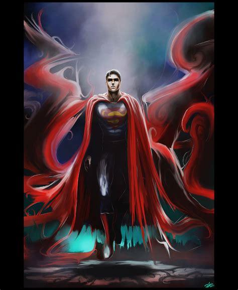 painting superman superman conceptfan gallery ebaum s world