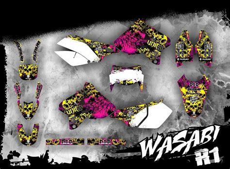 drz 400 dekor suzuki drz 400 dekor 1999 2016 wasabi r1 mx kingz