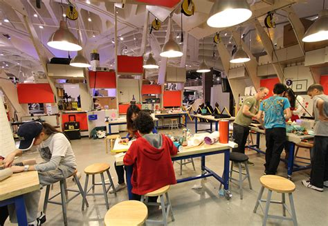 Collaborative Work Space by Makerspaces The Future Of Education Design Engine