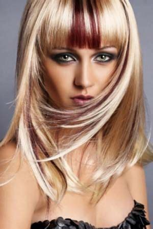 pictures of edgy blonde red 17 best images about hair color on pinterest black hair