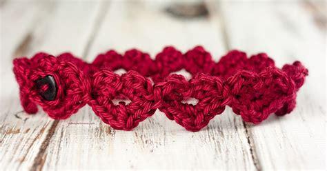 crochet pattern heart headband crochet heart headband pattern