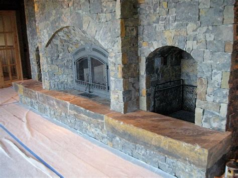 natural stone fireplaces niagara natural stone veneer