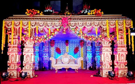 Wedding Organizer Decoration by Traditional Wedding Mandap Events Organizer