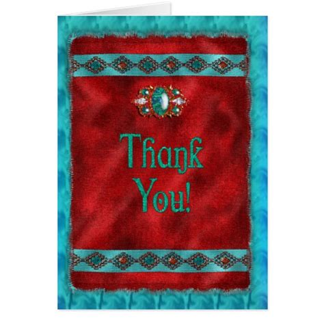 free printable native american thank you cards thank you southwestern navajo greeting card zazzle
