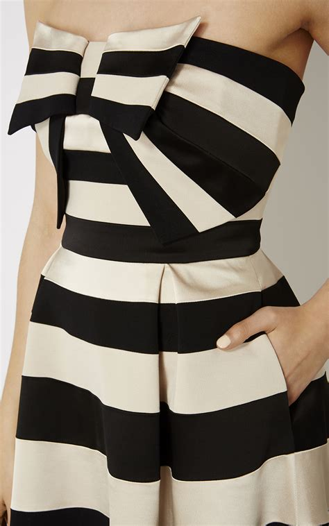 Stripes Bow Dress by Bow Detail Striped Dress Millen