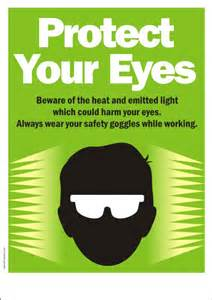 Free Kitchen Design Tools safety poster protect your eyes from light safety