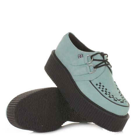 tuk shoes womens mondo hi mint green real suede