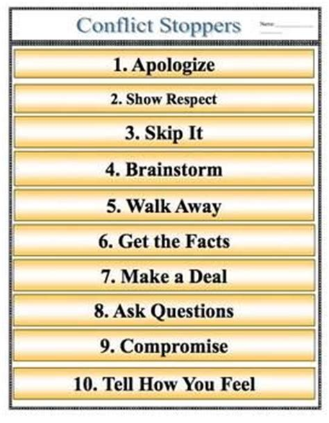 Pdf Dropping Struggle Seven Ways by Conflict Resolution Poster Pdf File Conflict Starters
