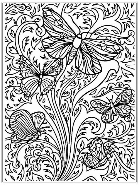 adult coloring page coloring home coloring pages free printable adult coloring pages nature