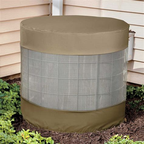 central air conditioner covers outside vented air conditioner cover the green head