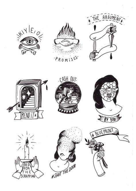tattoo flash ainize santos