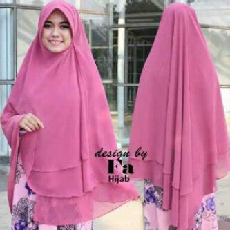 Khimar 3 Layer Pinguin Qinara rumah savana khimar pet amera pinguin 2 layer