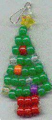 christmas tree pony bead pattern little christmas tree beadie pony beads pinterest