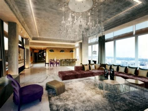 3d Room Rendering Software luxurious penthouse apartment with private terrace and