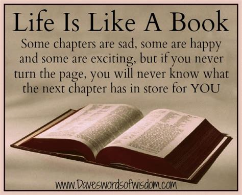 your page books daveswordsofwisdom the many chapters of
