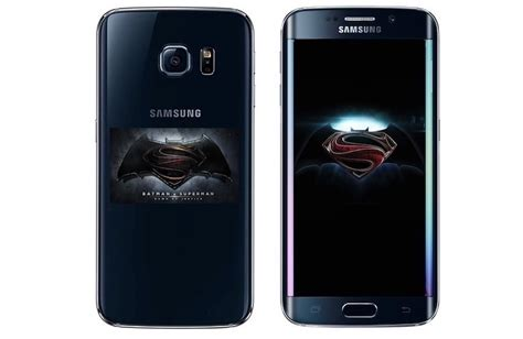 Harga Samsung S7 Limited Edition Batman samsung to reveal a special edition batman vs superman
