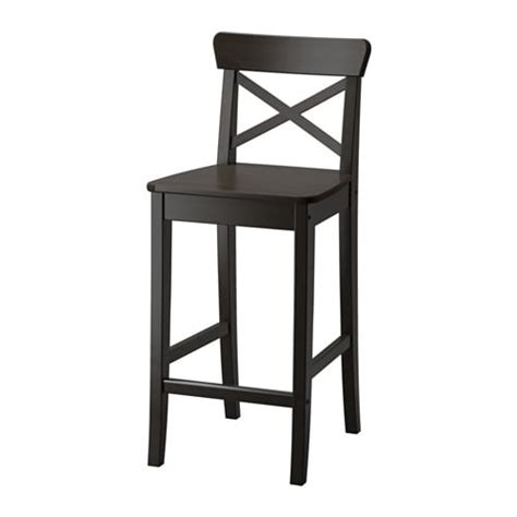 Ikea Hocker Ingolf by Ingolf Bar Stool With Backrest Ikea