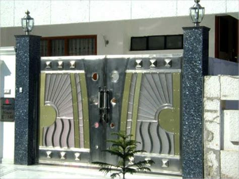 modern home design ta gate designs for home 2018 model gallery and fence design
