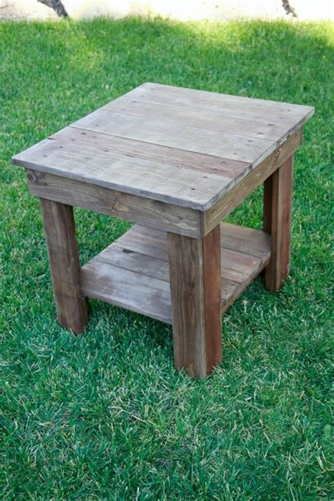 recovered pallet  table stain   chalk paint