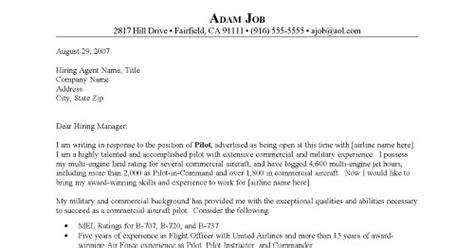 Pilot Cover Letter by Conversation With My Aviation Cvs Cover Letters And