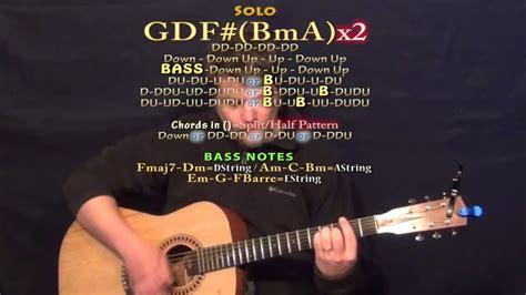 One Headlight Guitar Chords
