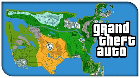 usa grand map awesome grand theft auto usa concept map vice city