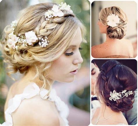 Brautfrisur Offen Mit Blumen by Brautfrisuren Lange Haare