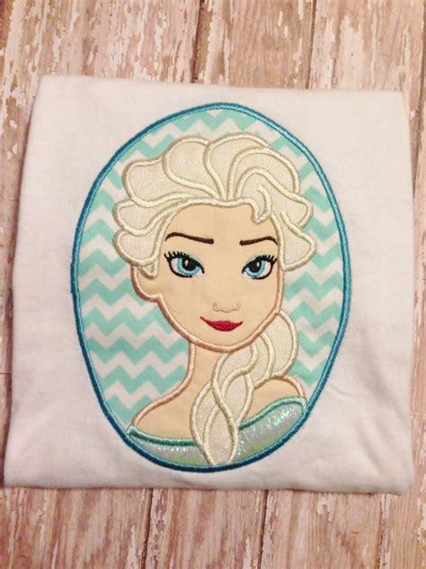 embroidery design elsa frozen frozen snow queen cameo applique embroidery design 4x4 5x7