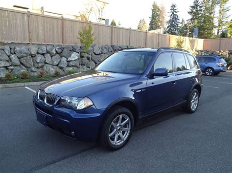 2006 bmw x3 3 0i 2006 bmw x3 3 0i awd 4dr suv in seattle wa prudent
