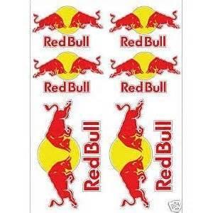 Red Bull Energy Aufkleber by Stickermania Tafel 1 Von 6 Aufkleber Aufkleber Red Bull