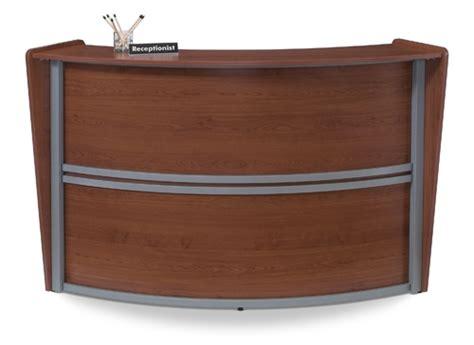 Ofm Reception Desk Curved Reception Desk Ofm 55290