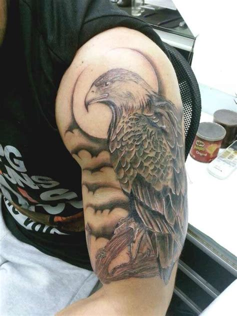 52 best eagle tattoos and eagle shoulder tattoos for www pixshark images