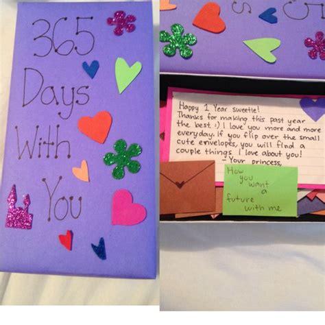 1 Year Anniversary Gifts For Boyfriend Ideas - 1 year anniversary gift for my boyfriend that i made