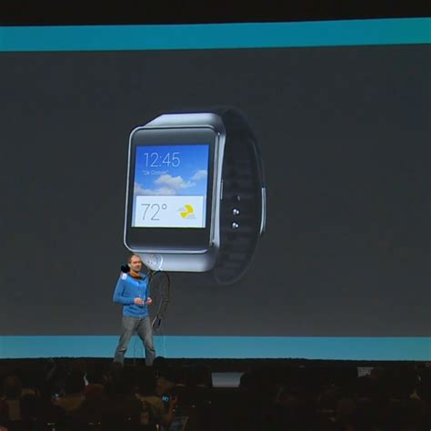 samsung android wear i o 2014 samsung gear live android wear smartwatch announced available on play later today