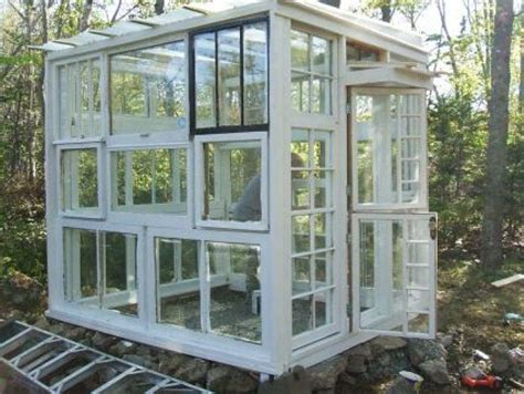 greenhouse windows greenhouse of old windows green house ideas pinterest
