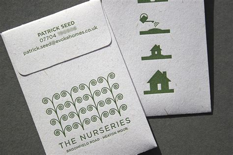 Seed Business Cards