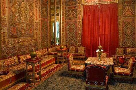 arabic home decor interior of peles castle romania lifestyle culture