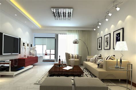 Lighting For Living Room Ideas Minimalist Living Room Home Decorating Ideas